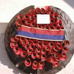 2007 HM wreath Tyne Cot Cemetary Passendale